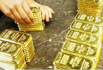 Giá vàng thế giới và trong nước đều giảm mạnh. Ảnh minh họa.